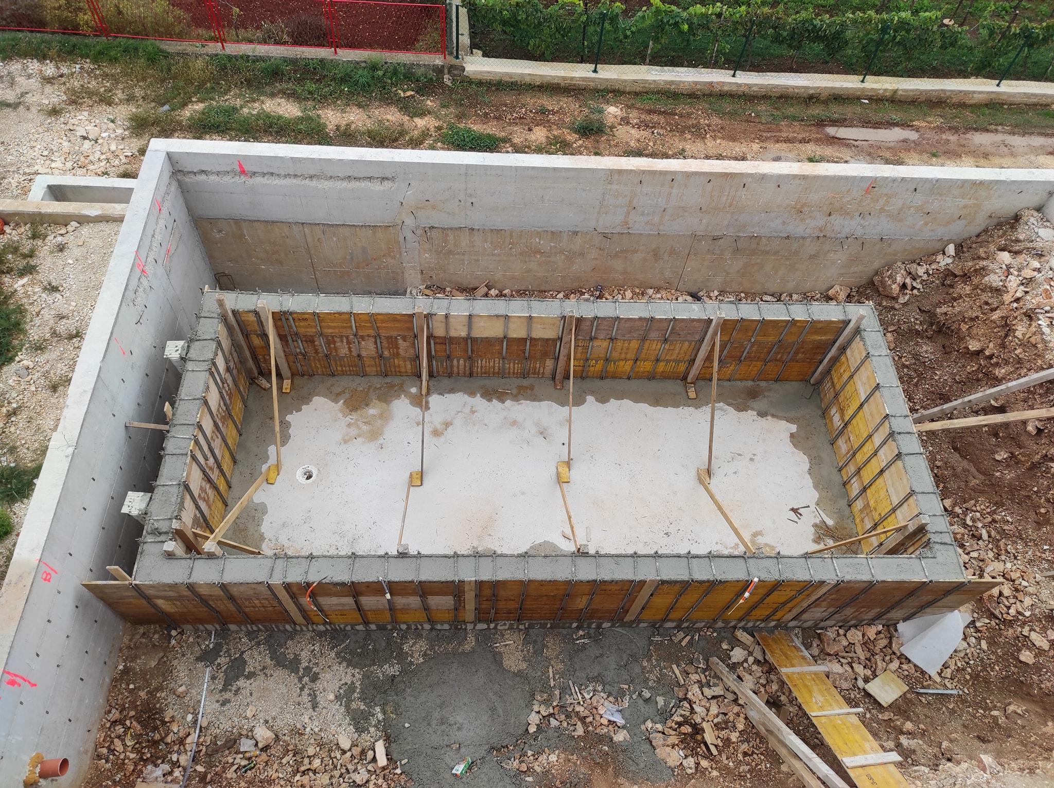 Uređenje okoliša – izgradnja bazena – Medulin 2