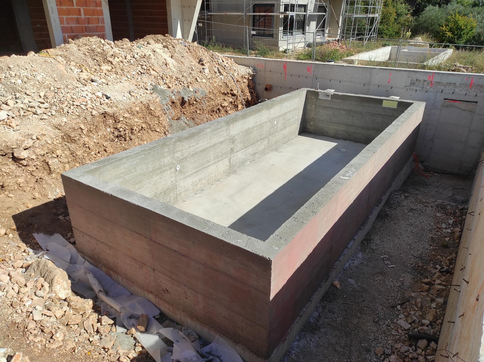 Uređenje okoliša – izgradnja bazena – Medulin 4