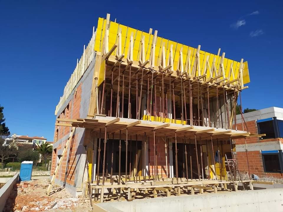 Gradnja obiteljske kuće u medulinu