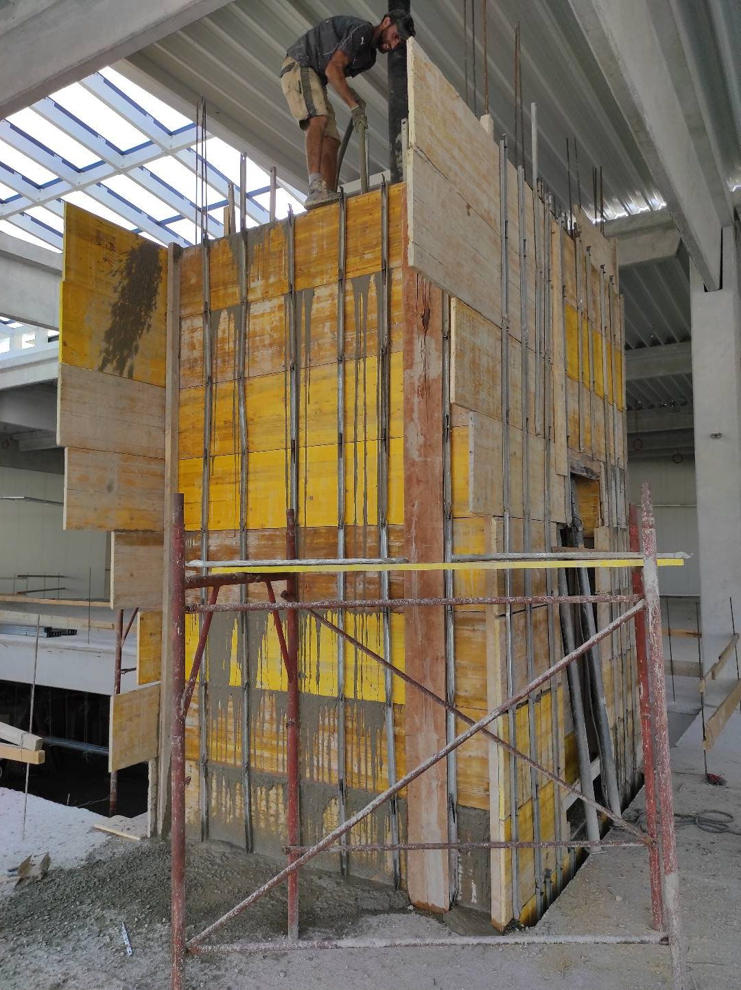 Pula mall city građevinski radovi